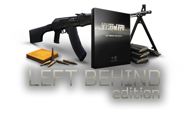 Escape from Tarkov®Left Behind Editio●(RF/CIS)●WARRANTY