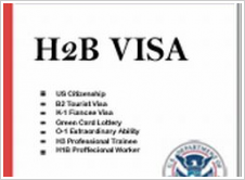 H2B job in the US