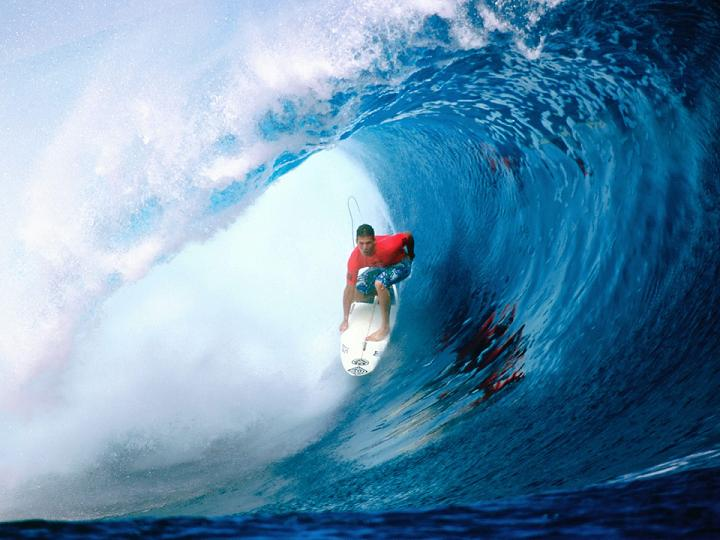 "Trading tactics Forex - ""wave surfing"""