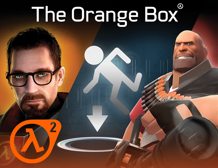 Half-Life 2: The Orange Box (activation key in Steam)