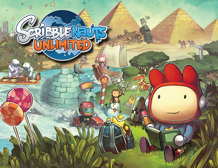 Scribblenauts Unlimited (activation key in Steam)