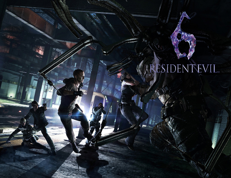 Resident Evil 6 (activation key in Steam)