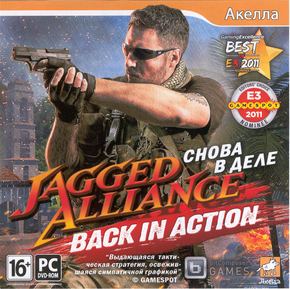 Jagged Alliance: Back in Action (Ключ активации Steam)