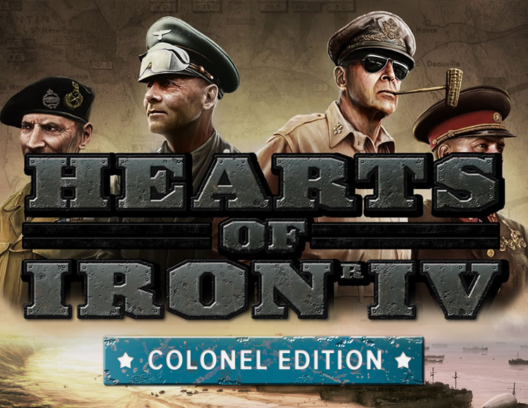 Hearts of Iron IV: Colonel Edition (Steam/Ru)