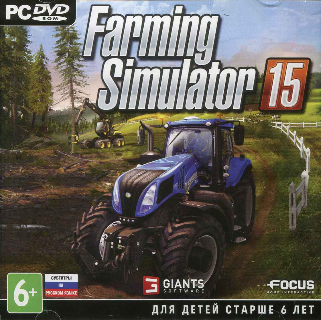 Buy Farming Simulator 2015 (activation key in Steam) and download