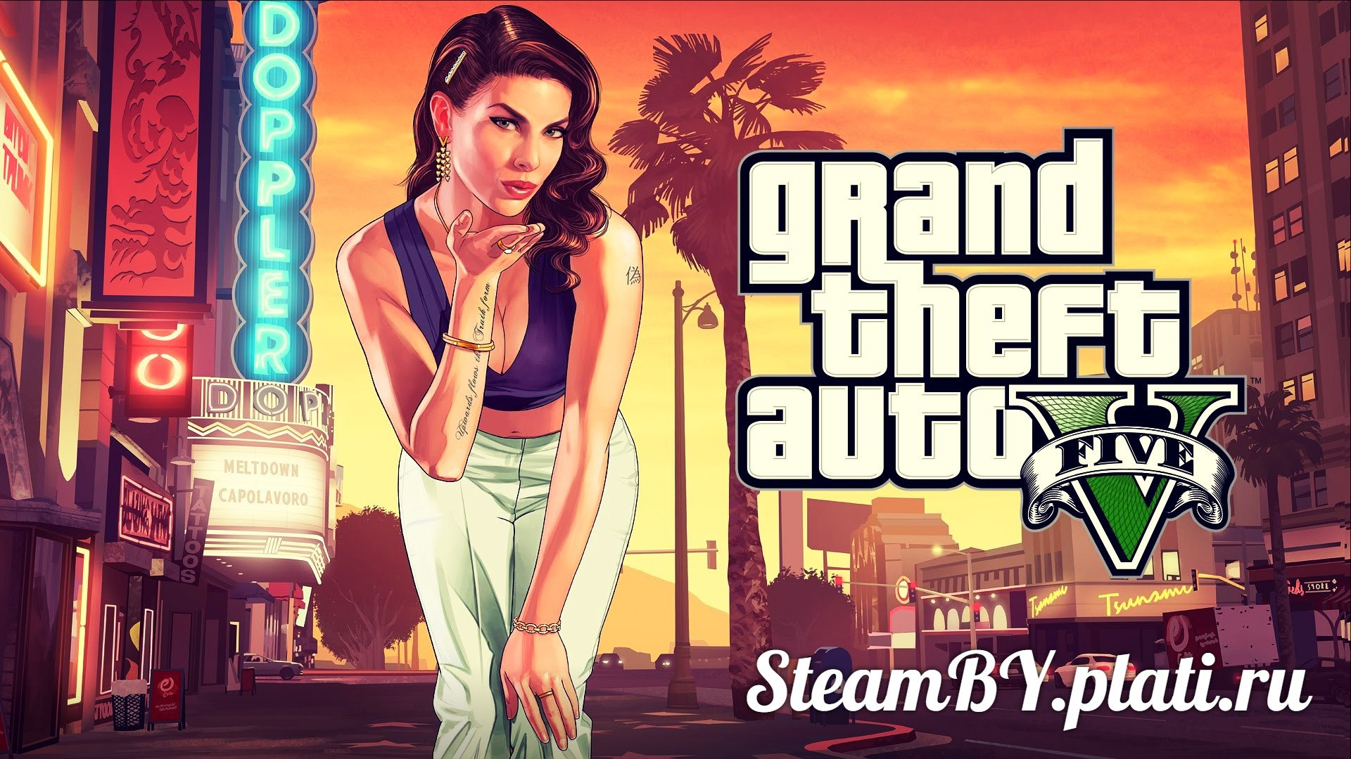 Grand Theft Auto 5  (STEAM Gift,RU+CIS)