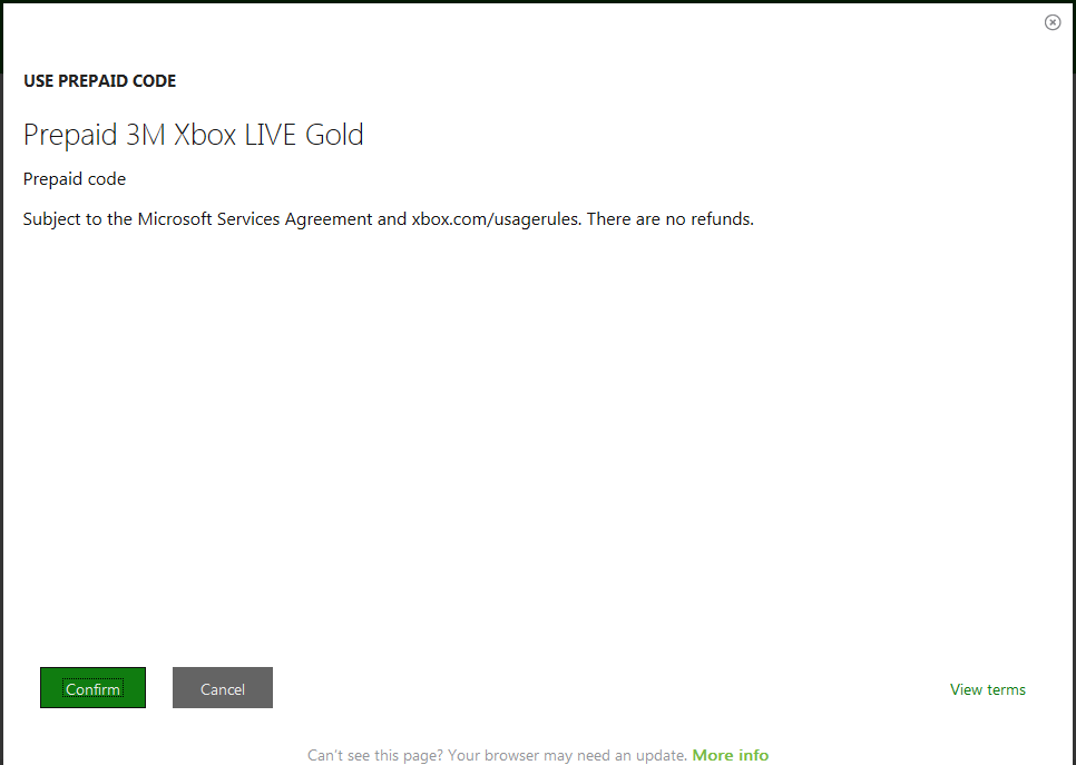 Xbox Live Gold Subscriptions 3 months