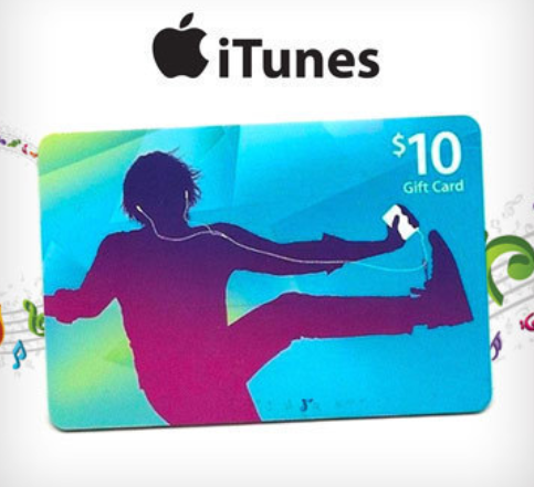 iTUNES GIFT CARD - $10 USA (Скан)
