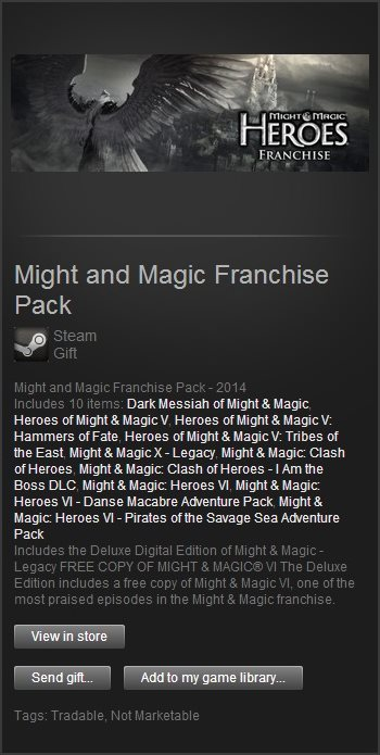 Might and Magic Franchise (Steam Gift / Region Free)