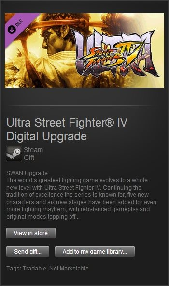 Ultra Street Fighter IV Upgrade (Steam GIft / ROW)
