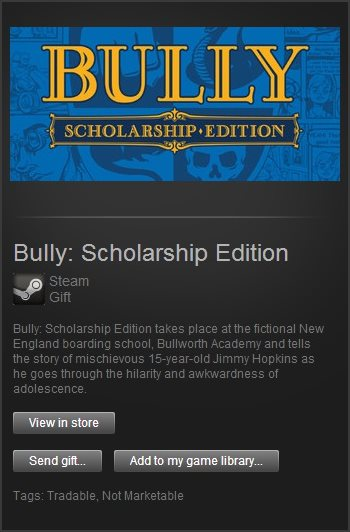 Bully: Scholarship Edition (Steam Gift / Region Free)