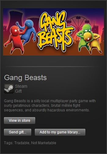 gang beasts free game