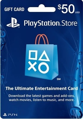 PLAYSTATION NETWORK - 50$ - (PSN/SCAN/USA) + PROMO
