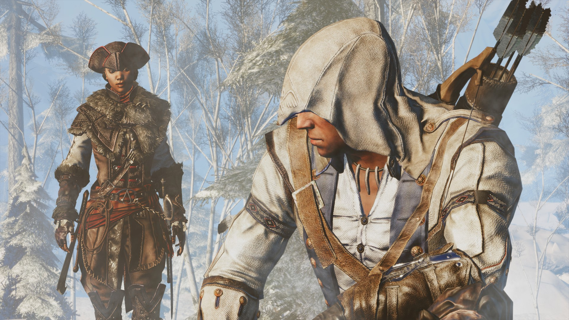 przeci assassins creed iii - HD 1920×1080