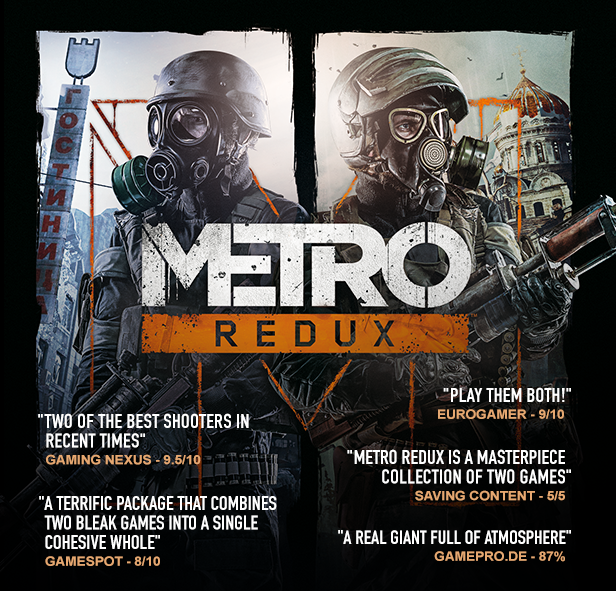 Metro Redux Bundle (Steam Gift RU + CIS)