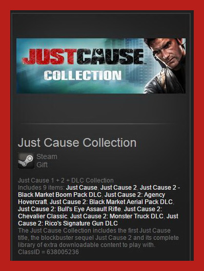 Just Cause Collection (Steam Gift ROW / Region Free)