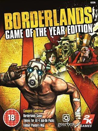 Borderlands GOTY Enhanced (Steam Gift RU)