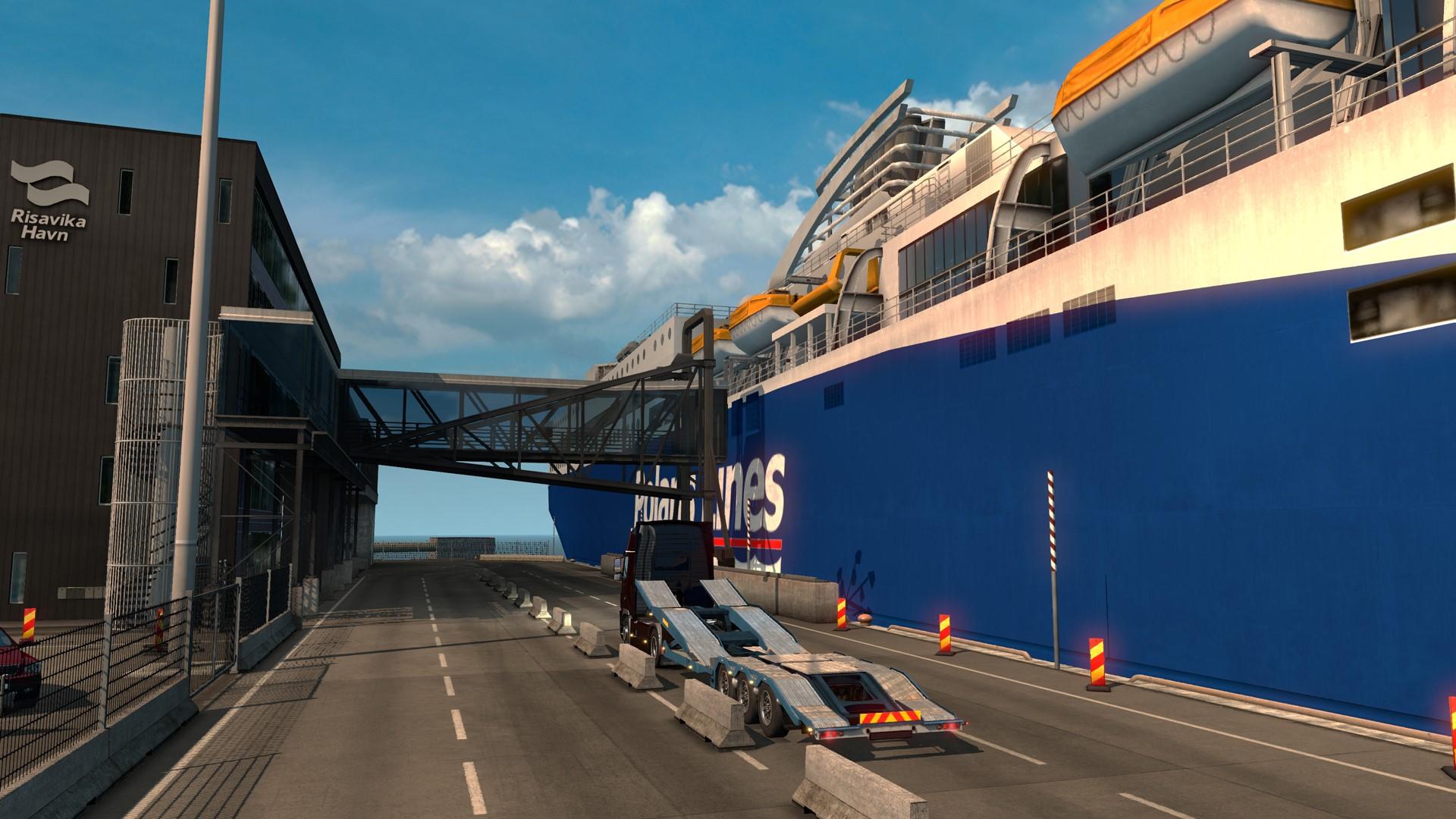 Euro Truck Simulator 2 Scandinavia DLC (Steam Gift RU)