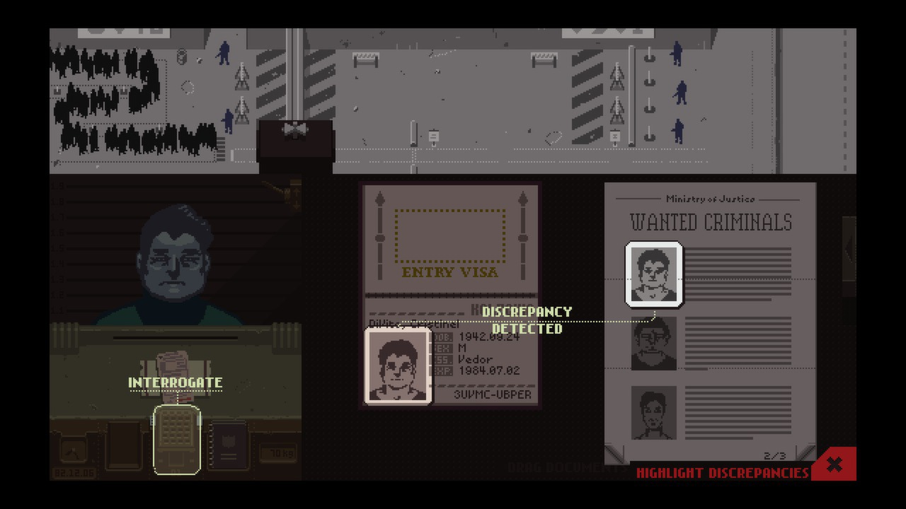 Papers, Please (Steam Gift ROW / Region Free)