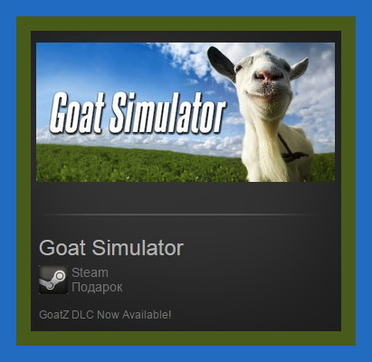 Goat Simulator (Steam Gift ROW / Region Free)