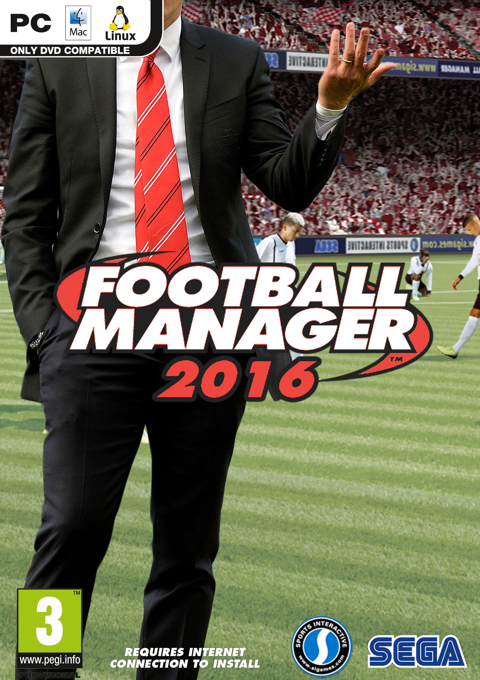 Football Manager 2016 FM16 (Steam KEY ROW REGION FREE)