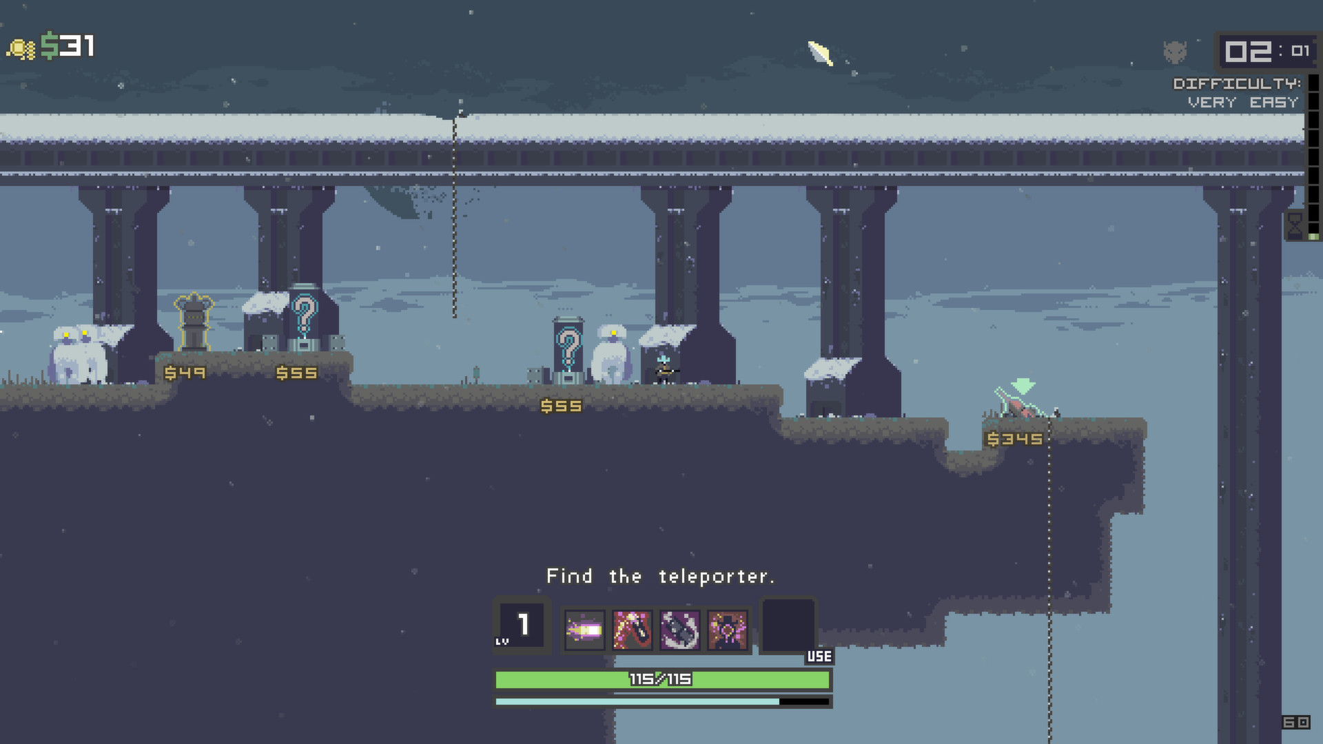 Risk of Rain (Steam Gift ROW / Region Free)