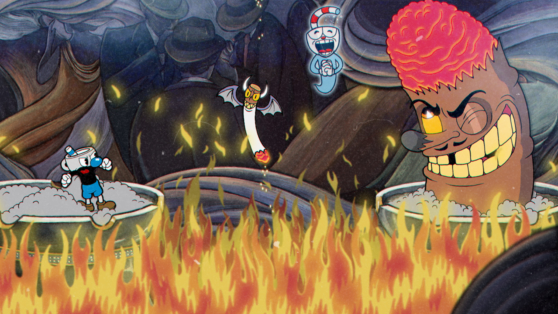 Cuphead (Steam Gift RU) 🔥