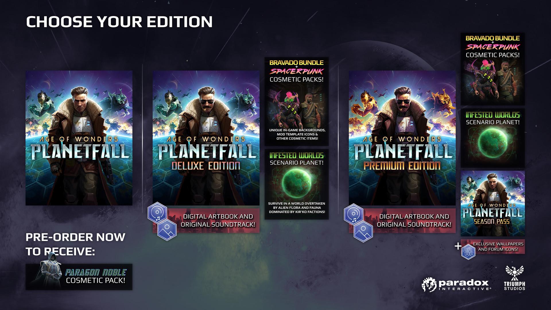 Age of Wonders: Planetfall / Deluxe / Premium STEAM RU 2019