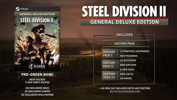 Steel Division 2 / Deluxe / Total Conflict Edition RU 2019