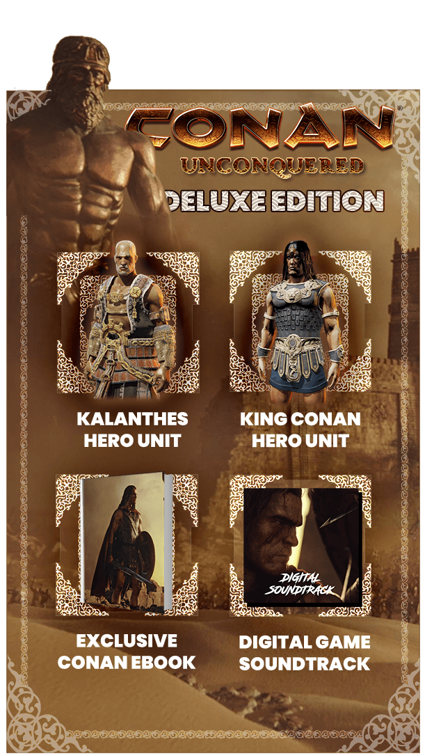 Conan Unconquered (Steam Gift RU) 2019