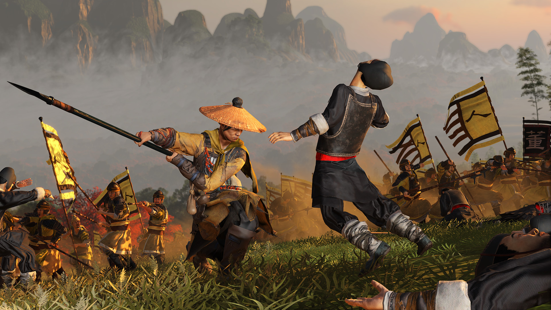 Total War: THREE KINGDOM - Yellow Turban Rebellion RU