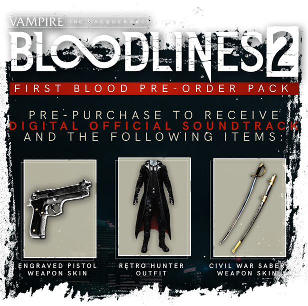 Vampire: The Masquerade - Bloodlines 2 Blood Moon RU