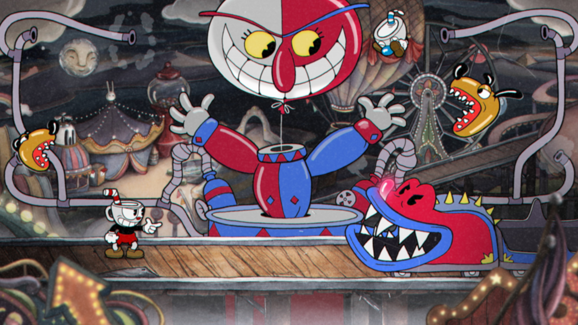 ✅ Cuphead 🥂 XBOX ONE SERIES X|S / PC Win 10 Key 🔑
