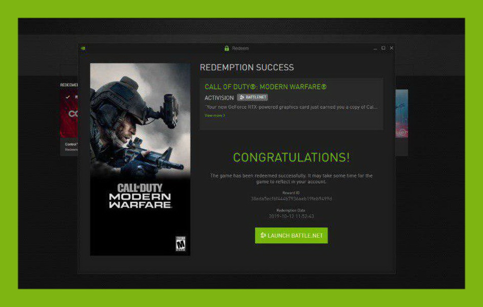 ✅ 🥇 Call of Duty: Modern Warfare 2019 NVIDIA RTX EU 🔑