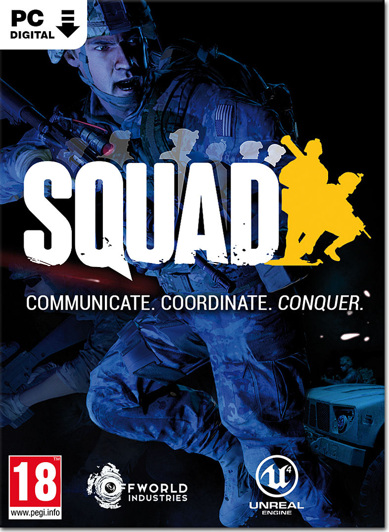 🔥 ⭐ Squad (Steam Key /Region Free) 🔑 🏅
