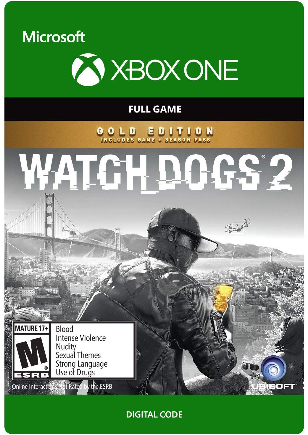 ✅ Watch Dogs 2 - Gold Edition XBOX ONE X|S Ключ 🔑