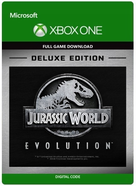 ✅ Jurassic World Evolution DELUXE 🦕 XBOX ONE KEY 🔑