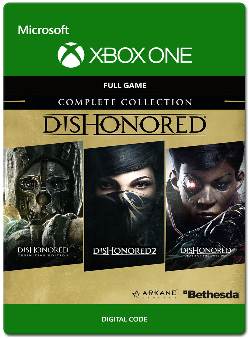 ✅ Dishonored The Complete Collection XBOX ключ 🔑