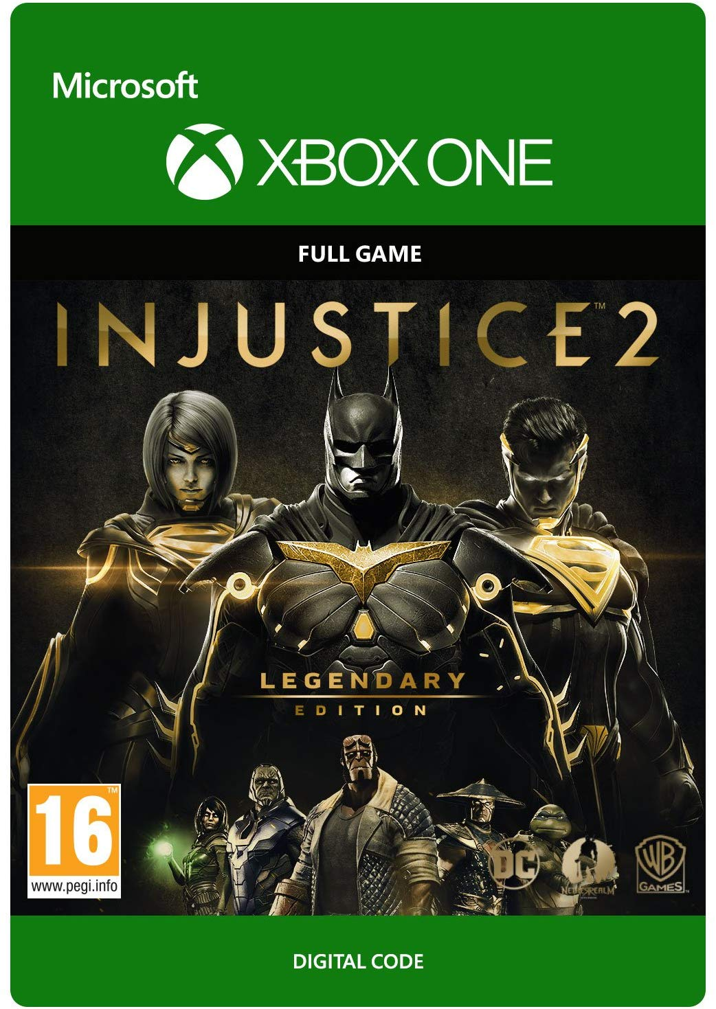 ✅ Injustice 2 - Legendary Edition XBOX ONE X|S Key 🔑