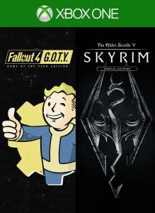 Skyrim Special Edition + Fallout 4 G.O.T.Y Bundle XBOX