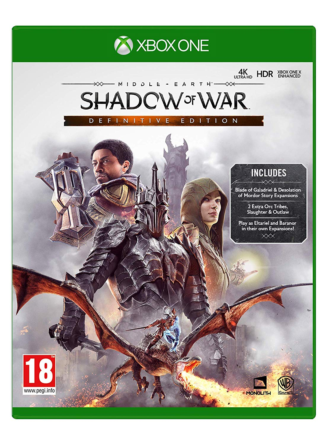 ✅ Middle-earth: Shadow of War Definitive Edition XBOX🔑