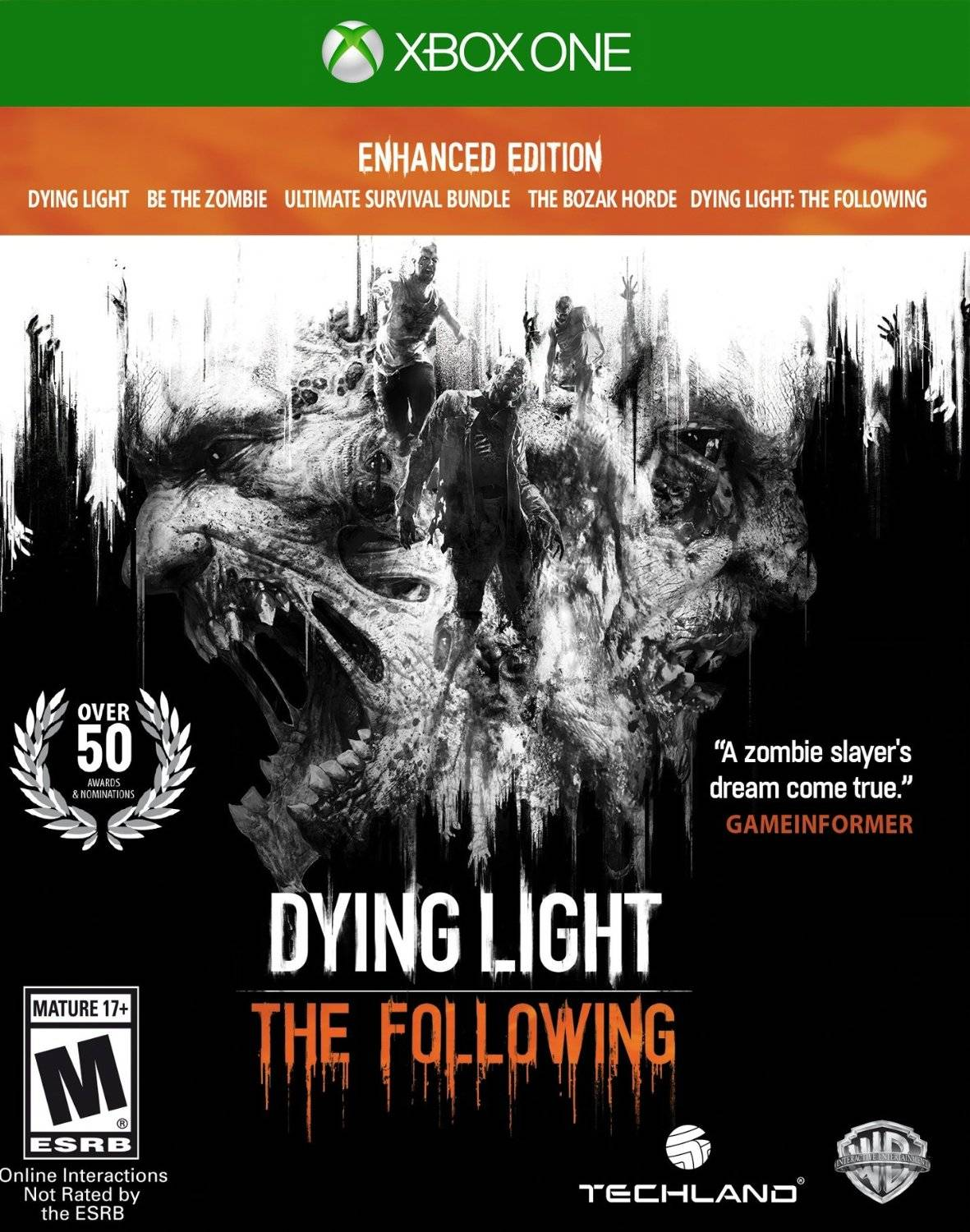 ✅ Dying Light: The Following - Enhanced Edition XBOX 🔑