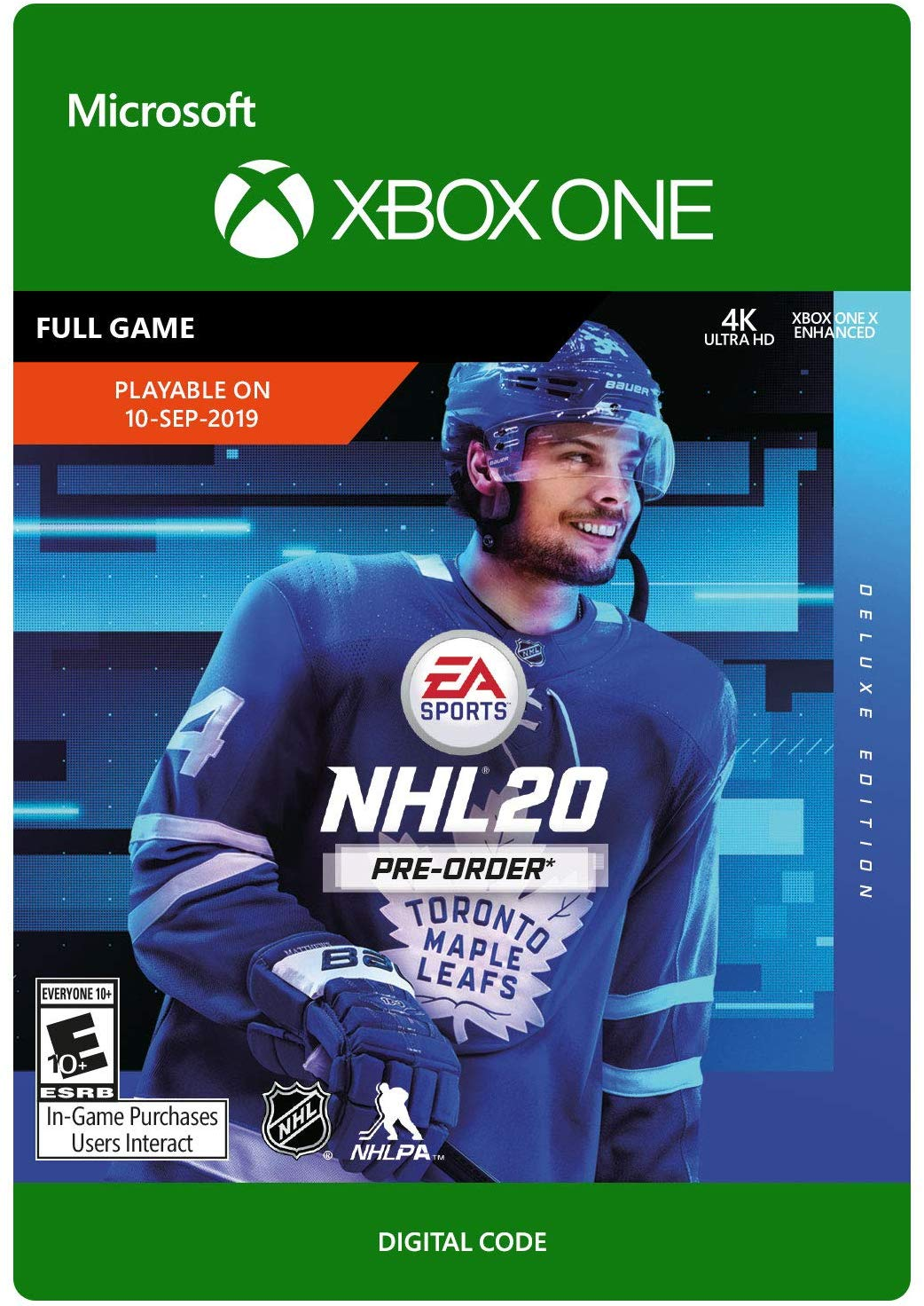 ✅ NHL 20 DELUXE 🏆 XBOX ONE Key / Digital code 🔑