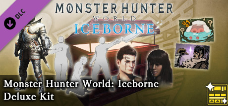 Monster Hunter World: Iceborne Deluxe Kit DLC Steam RU