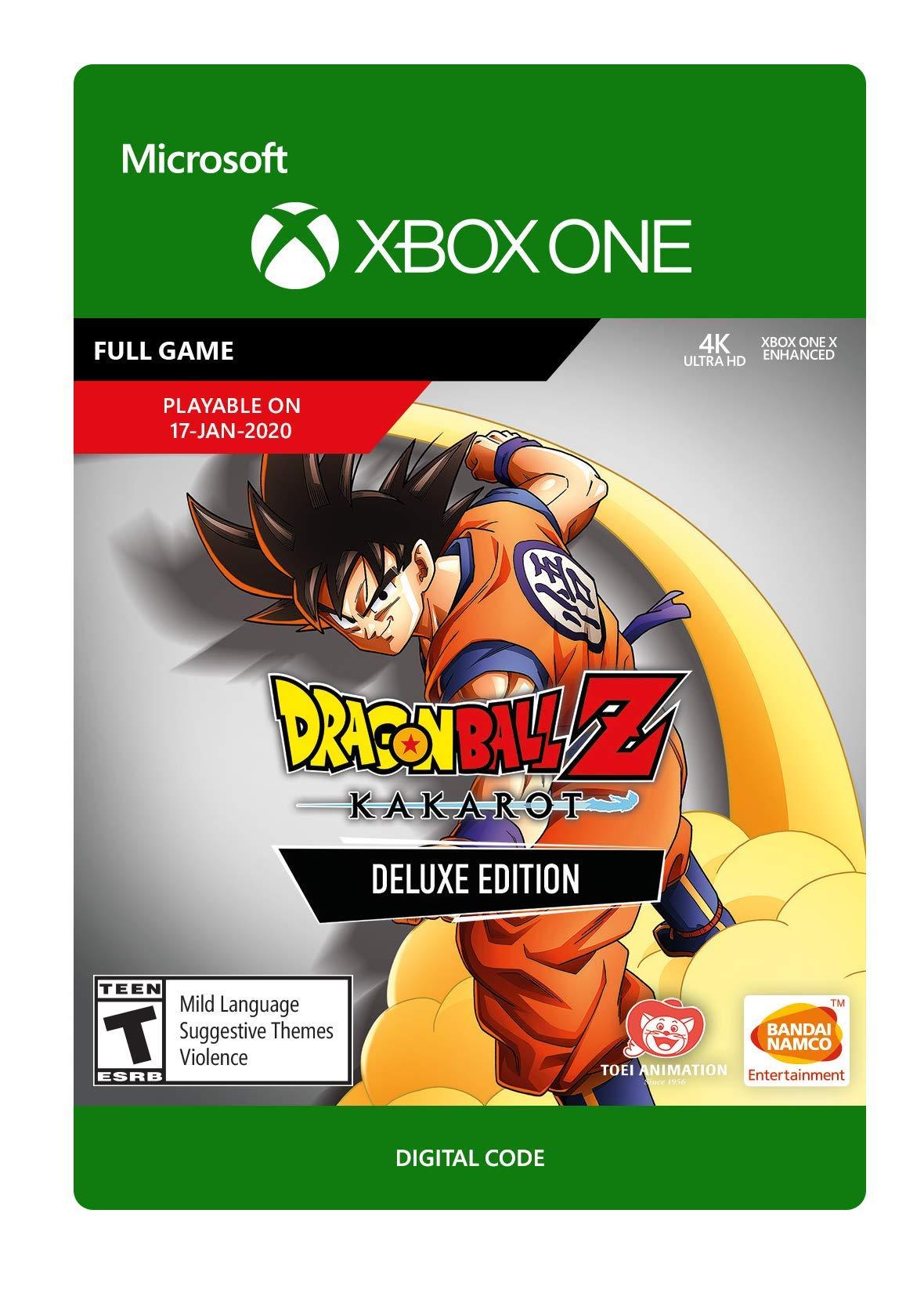 ✅ DRAGON BALL Z: KAKAROT Deluxe Edition XBOX ONE Ключ🔑