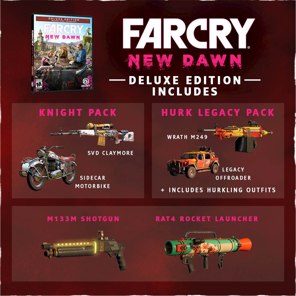 ✅ Far Cry New Dawn Deluxe Edition XBOX ONE Key 🔑