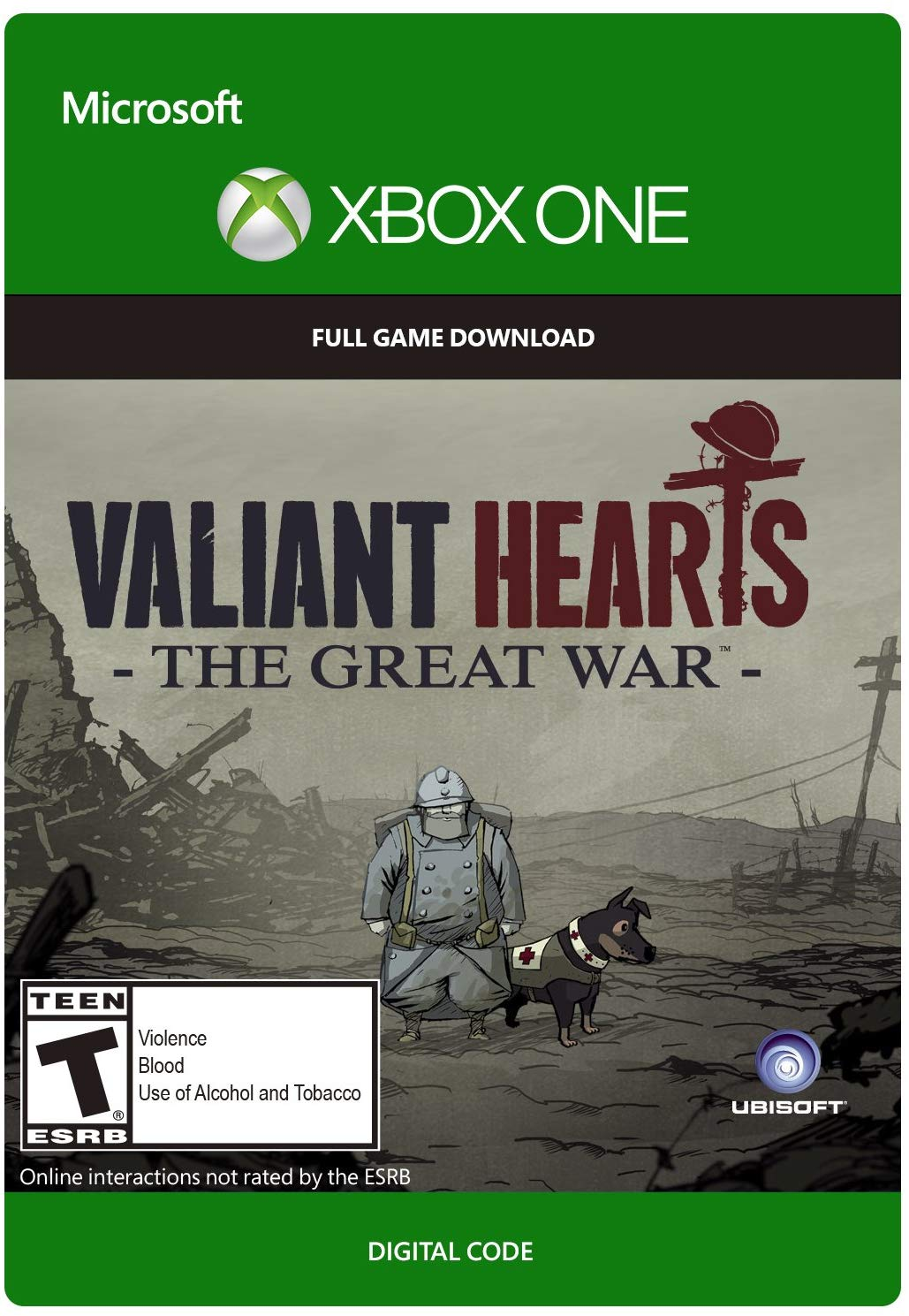 ✅ Valiant Hearts: The Great War XBOX ONE ключ 🔑