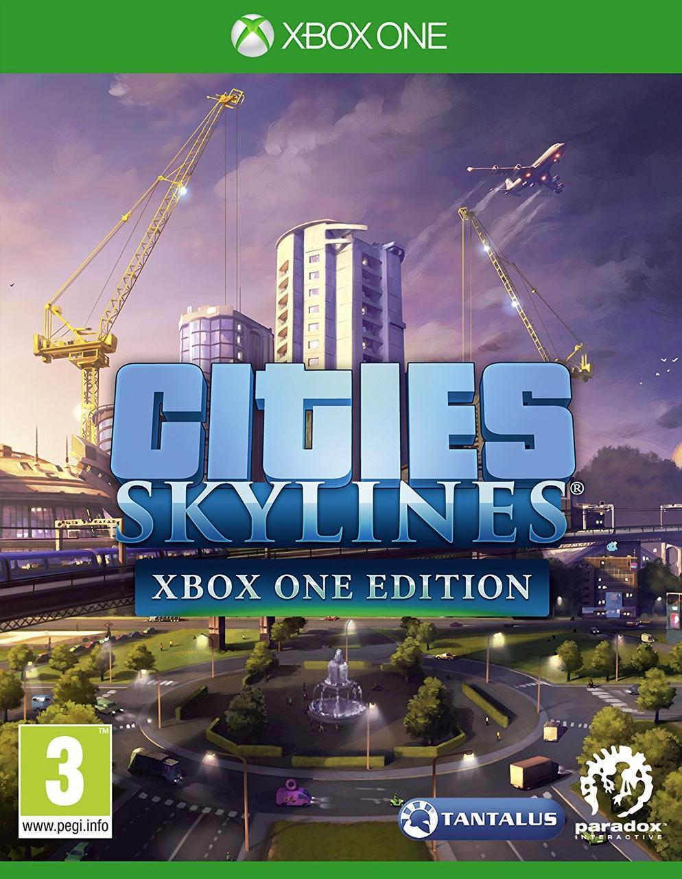 ✅ Cities: Skylines - Xbox One Edition XBOX ONE ключ 🔑