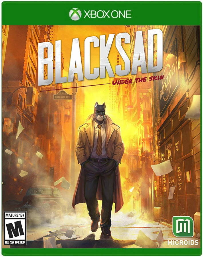 ✅ Blacksad: Under the Skin XBOX ONE ключ 🔑