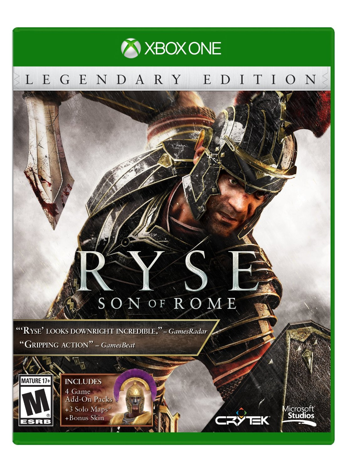 ✅ Ryse: Legendary Edition XBOX ONE Digital Key 🔑